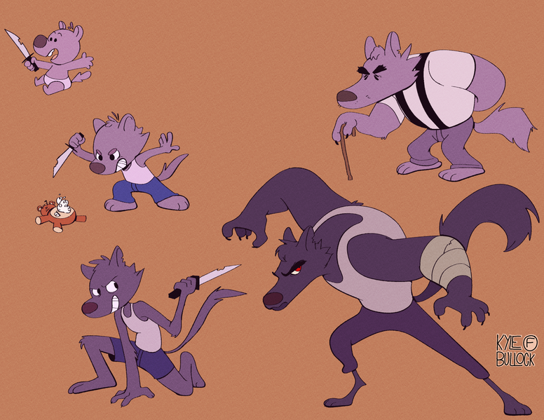 Timeline Character Design (2017)