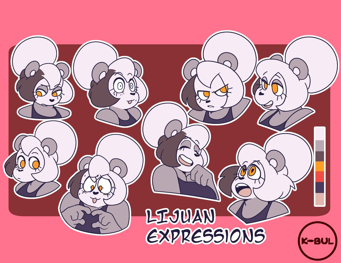 Lijuan Expressions (2018)