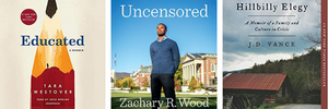 Educated, Uncensored, Hillbilly Elegy, Memoirs