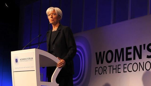 Christine Lagarde, Women's Forum, 2010