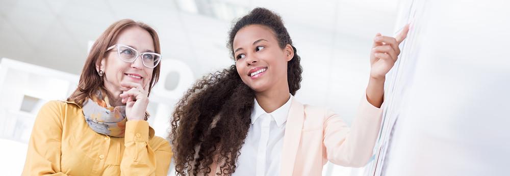 Female mentor, women's leadership
