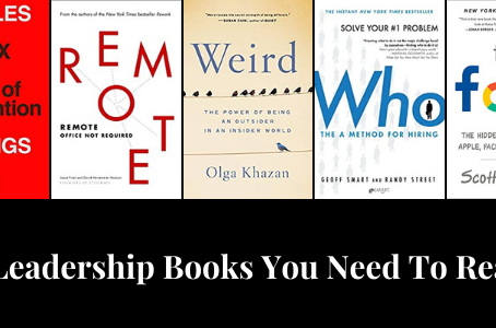 Five Books That Will Help You Lead Better in 2021