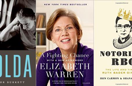 Books About Pioneering Women: Golda Meir, Elizabeth Warren and Ruth Bader Ginsburg