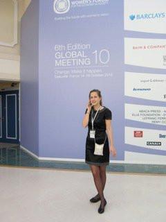 Gwendoline Ganay, Women's Forum