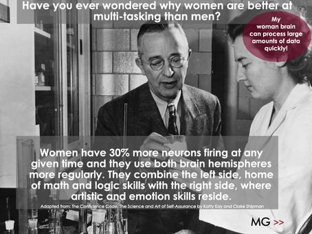 A Little Gender Trivia - Women's Brains