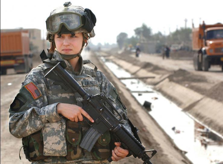 women in military, women's leadership