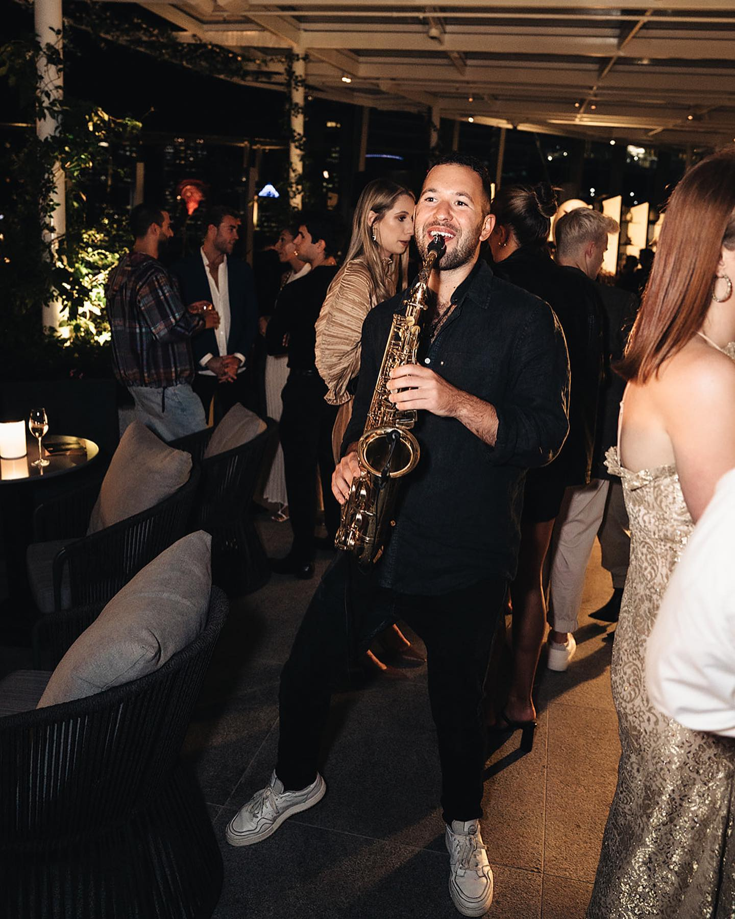 Sax Player High End Corporate Events