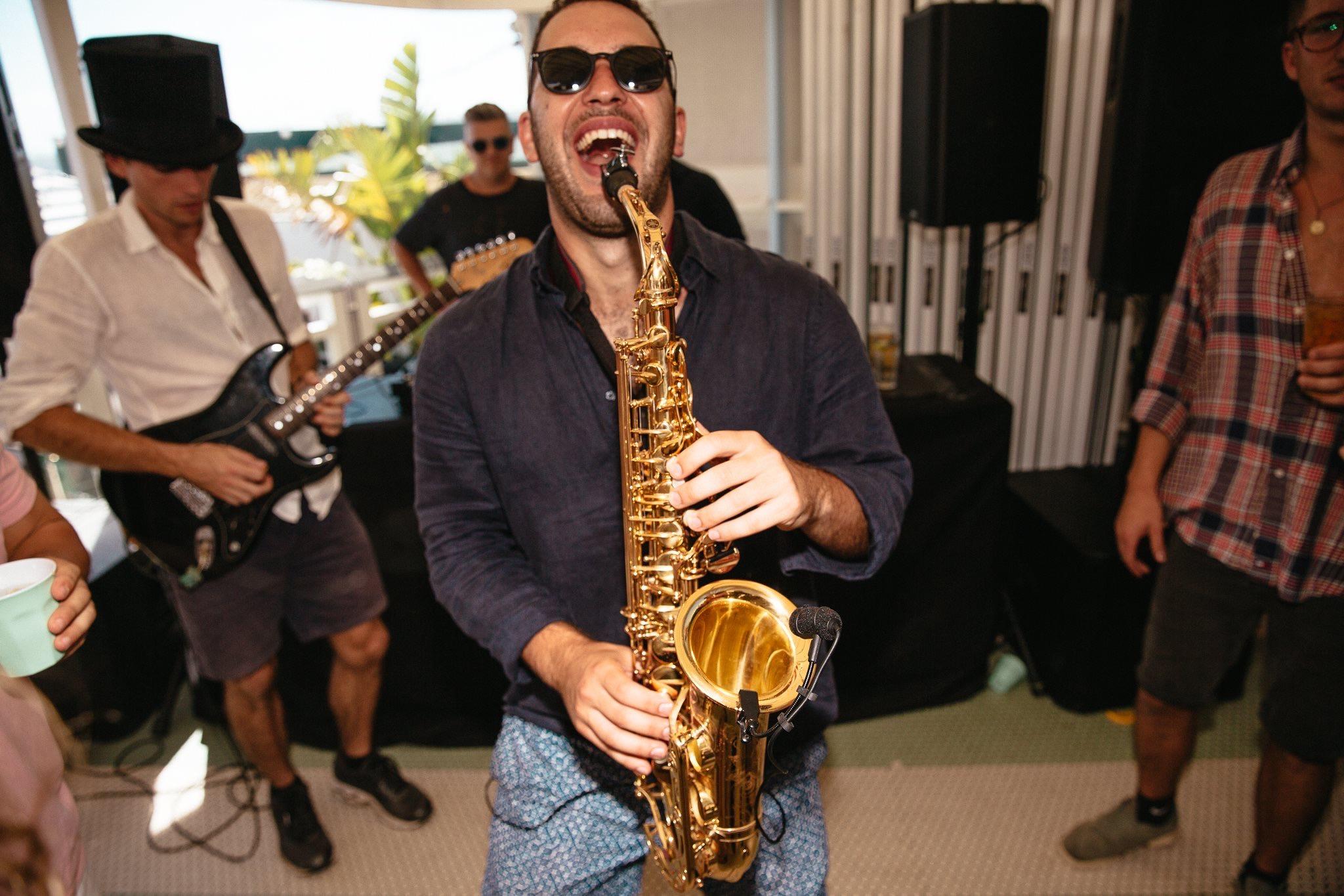 Saxophone House Music Sydney DJ