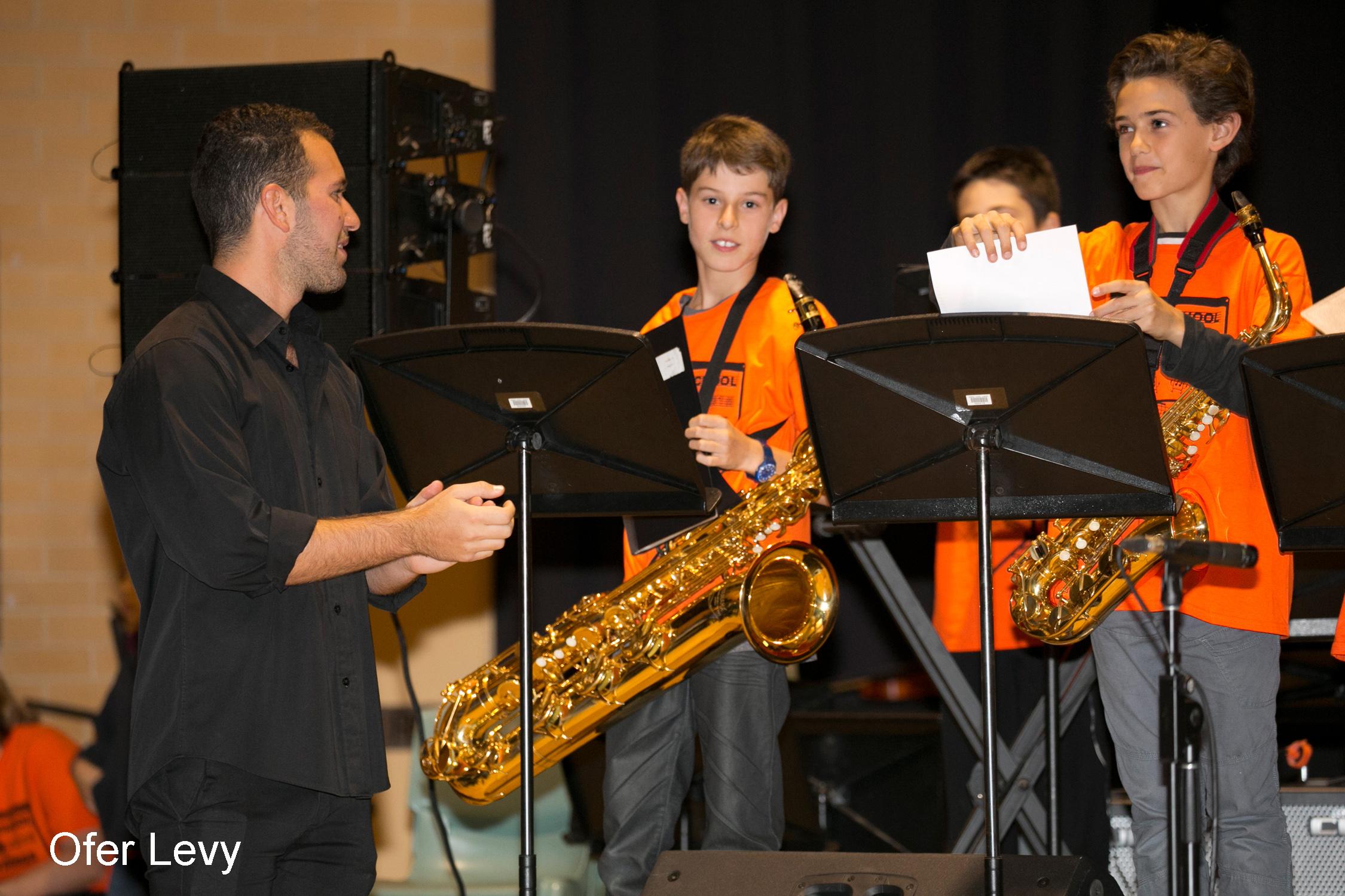 Sam Weiss Emanuel School Sax teacher