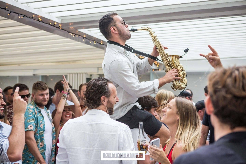 Sydney sax player