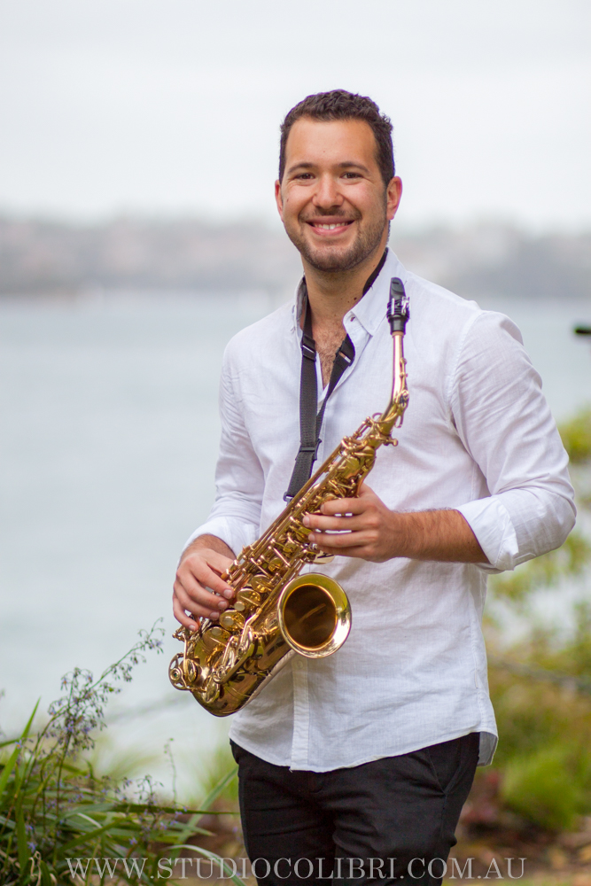 Sydney saxophone player
