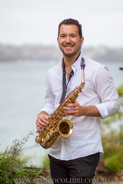 Sydney saxophone player