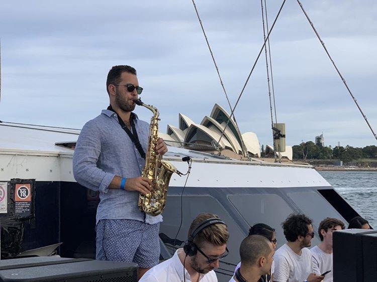 Saxophone Sydney Harbour Event Agent