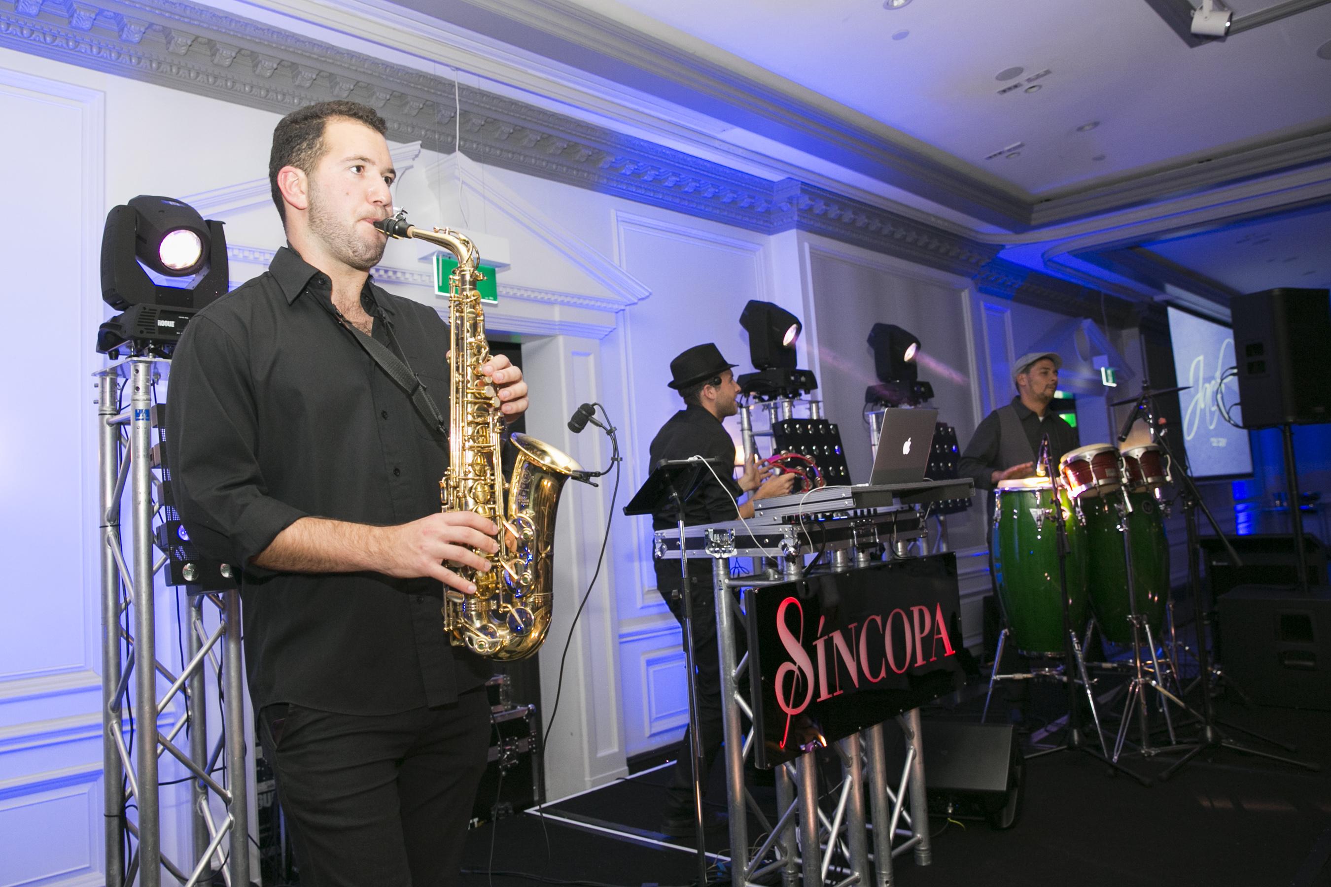Saxophone for Sydney's Sincopa Trio