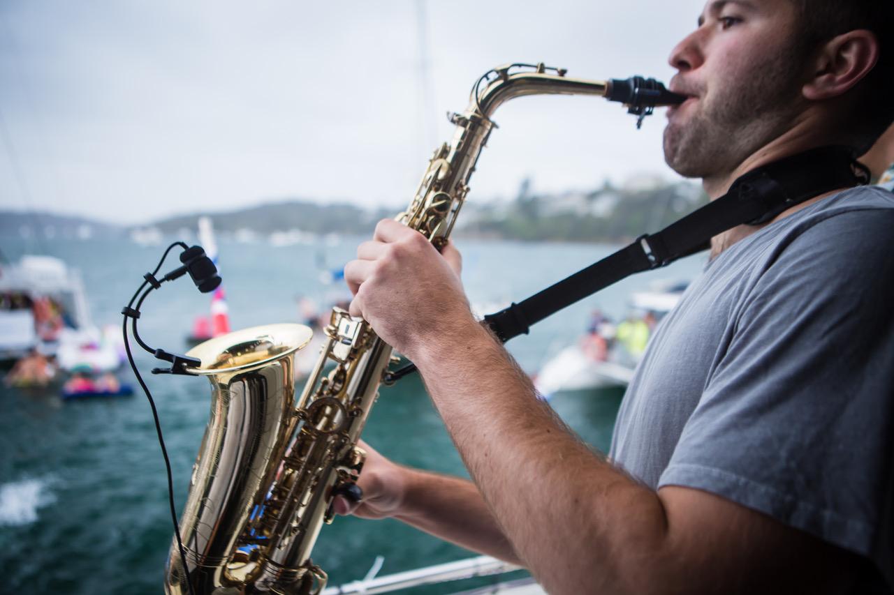Yacht Social Club Sax Sydney Harbour