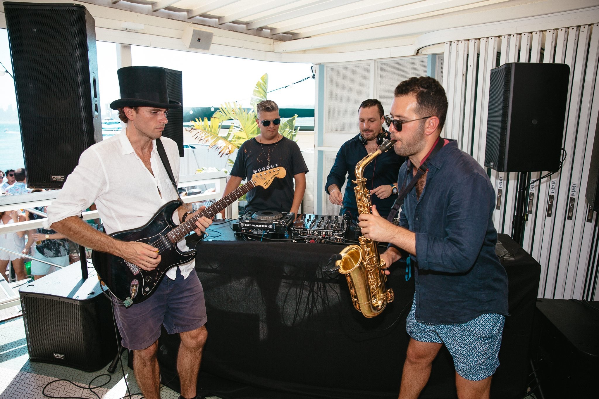 Saxophone Sydney DJ Duo