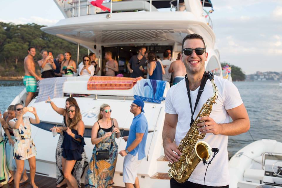 Sax and DJ for parties