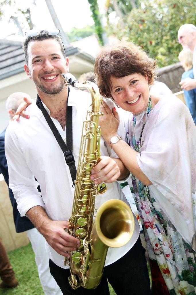 Sam Weiss saxophone player
