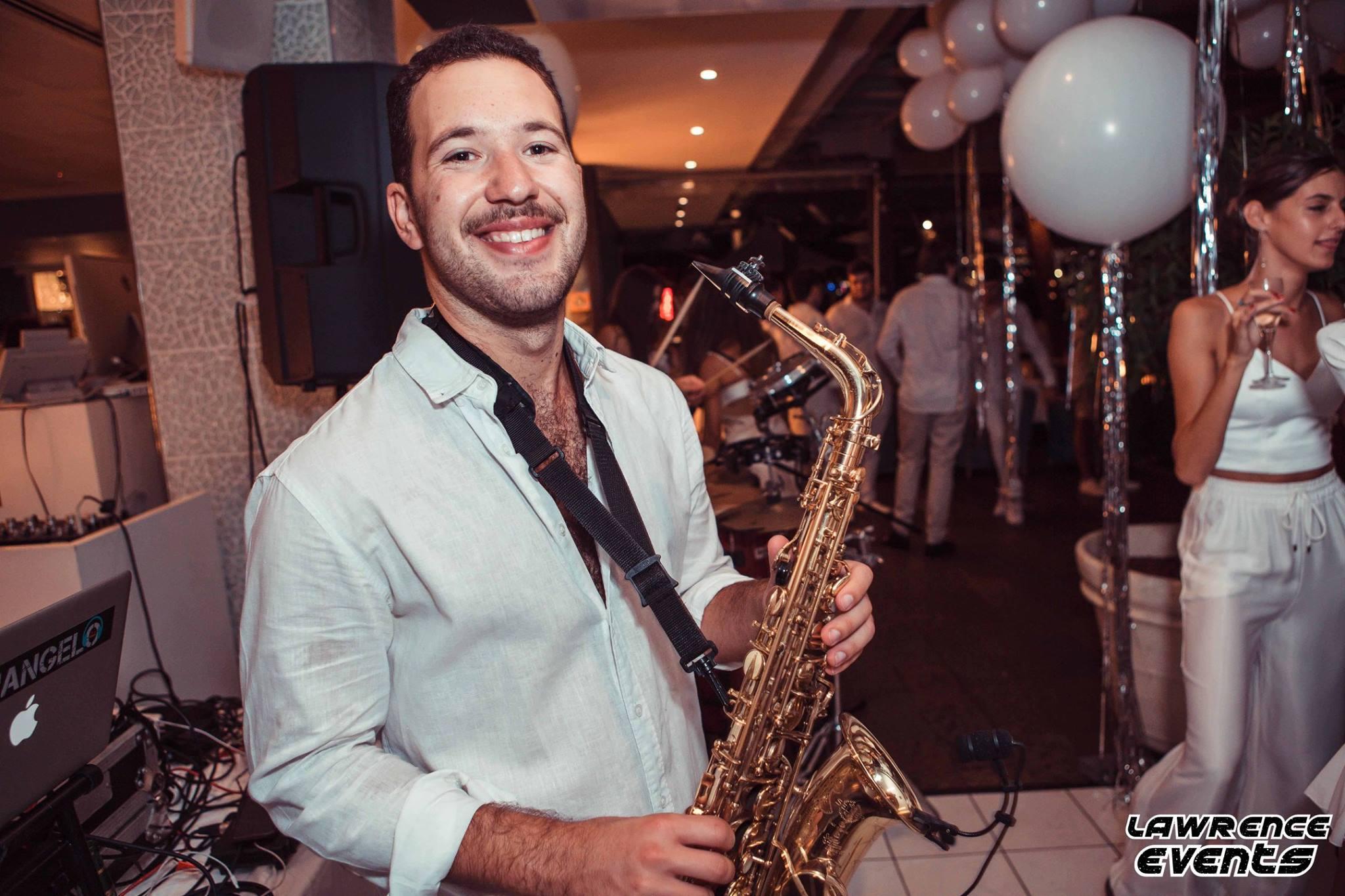 Sax player Sydney