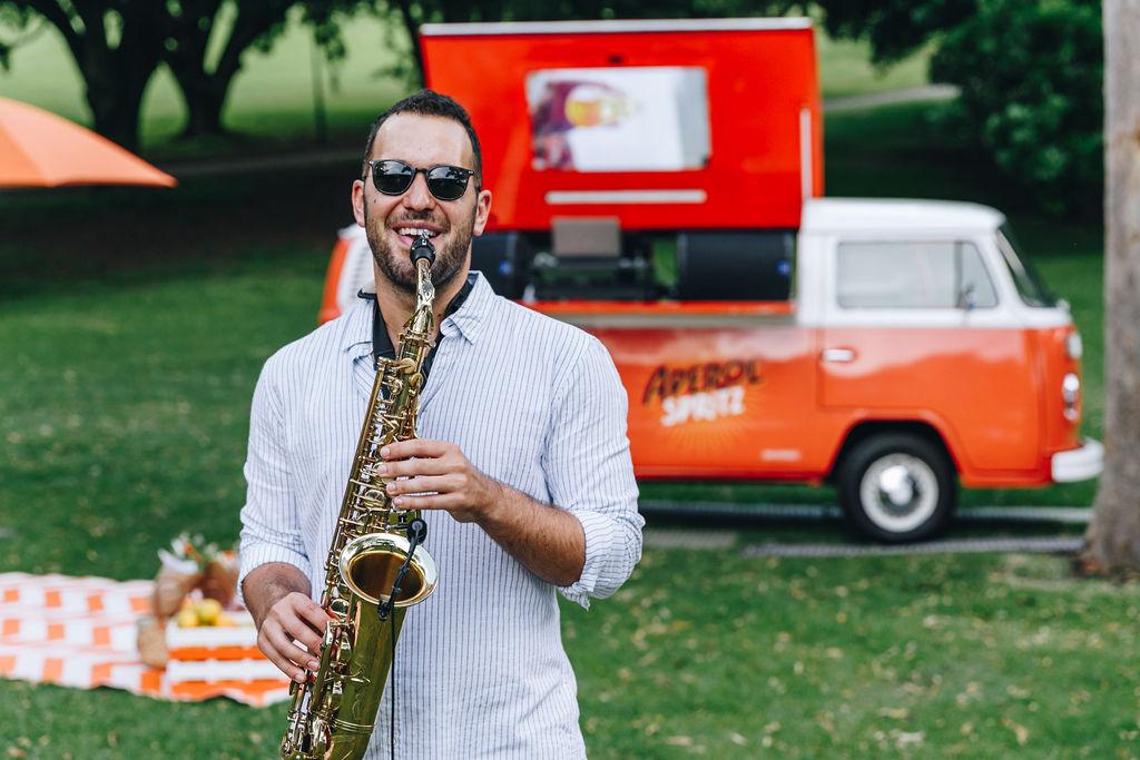 Saxophone Sydney Event Private Corporate