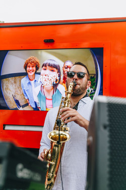 Sax & DJ Sydney Event Party Hire Aperol Spritz Summer