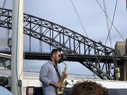 Saxophone DJ Sydney Boat Harbour