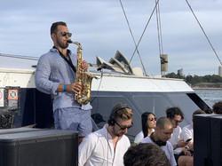 Saxophone DJ Boat Harbour Event