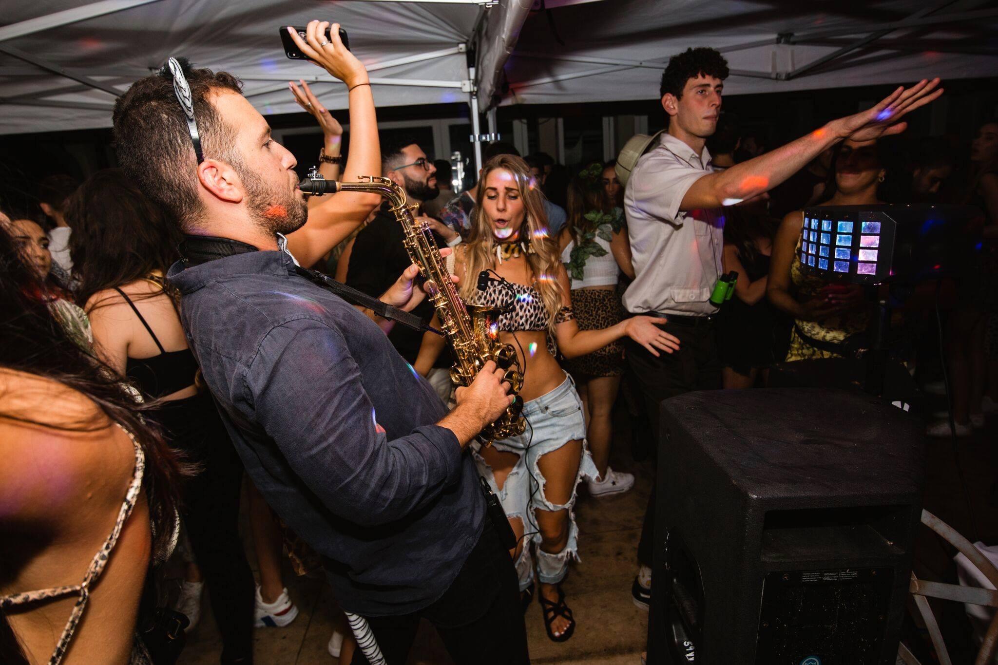 Saxophone House Party DJ Disco