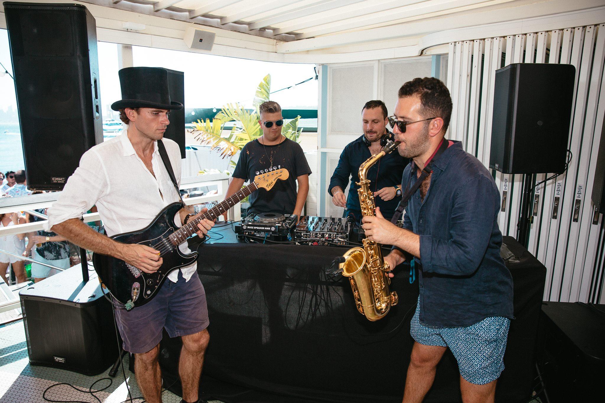 Sydney Sax Player Wedding