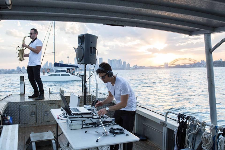 Sax and DJ combo Sydney
