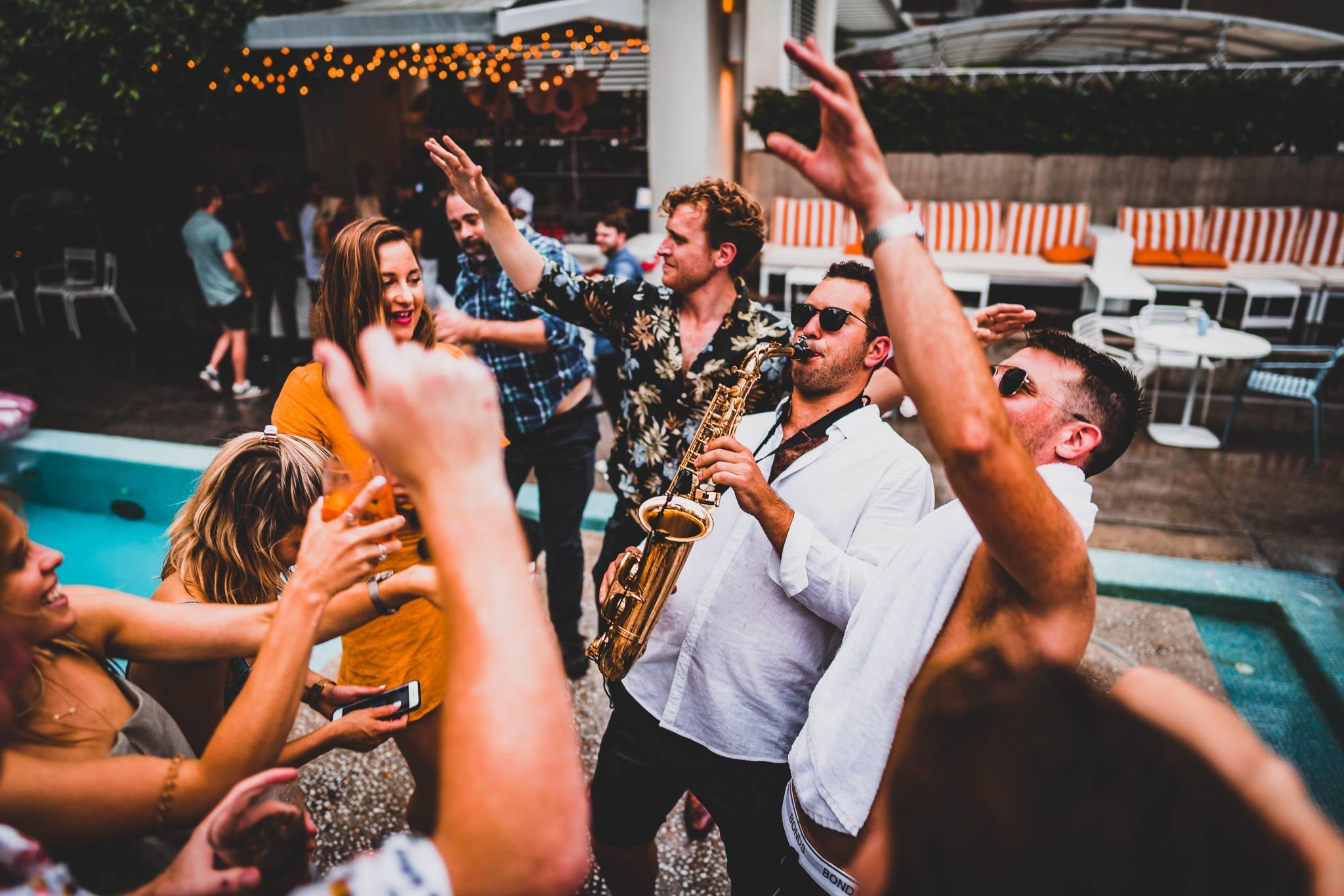 Sydney Christmas Party Saxophone