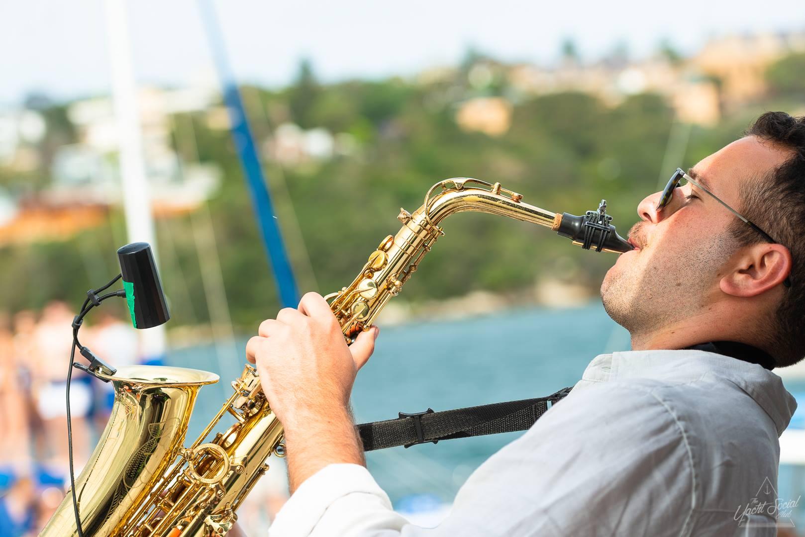 Saxophone Boat Party Sydney