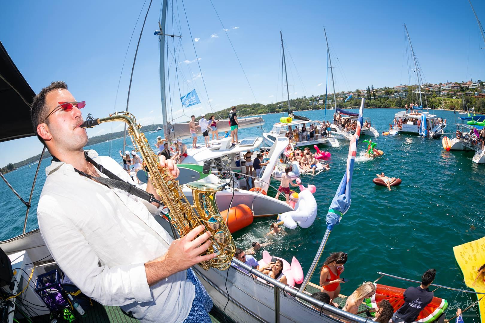 Saxophone Sydney Harbour Events