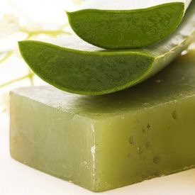 Aloe Vera & Olive Oil Gentle Beauty Soap