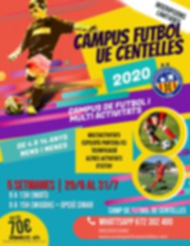 Copia de Soccer Camp Flyer Template - Ma