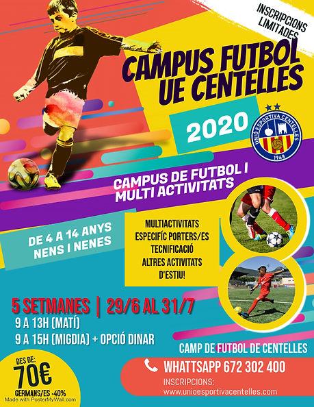 Copia de Soccer Camp Flyer Template - Ma
