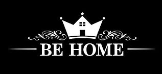 be_home_logo_black_background_black_and_