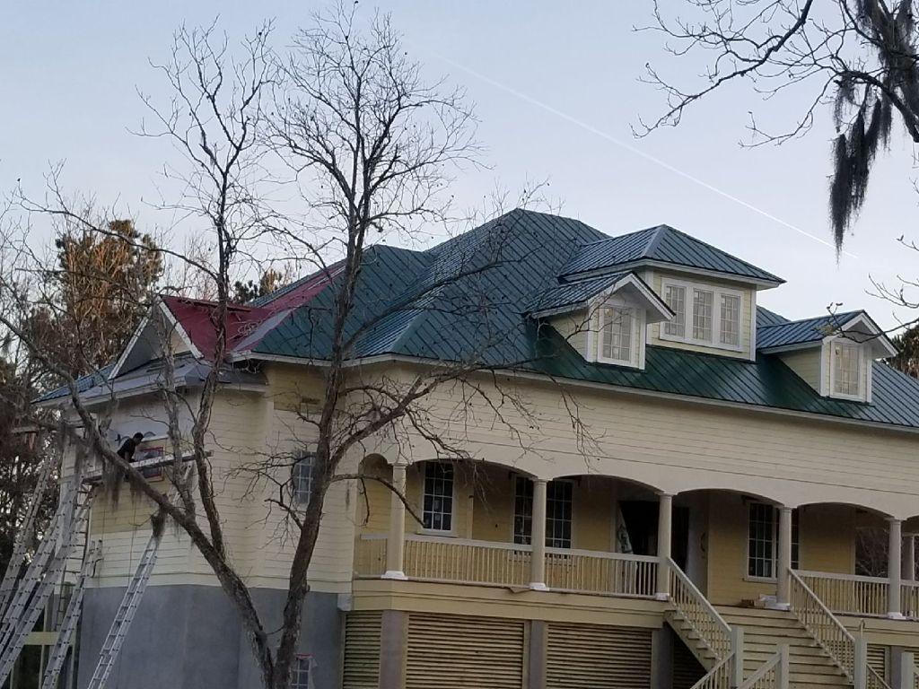metal roof mclellanville Sc