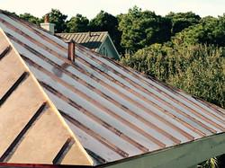 Copper Roof Kiawah Island SC