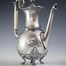 Civil-War-Gorham-Sterling-Silver-Tea-Set