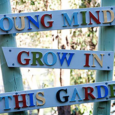 Young minds grow in this garden