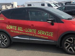 Lorte bil - lorte service