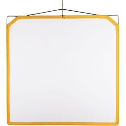 """Matthews White Artificial Silk Scrim (48 x 48"""")"""