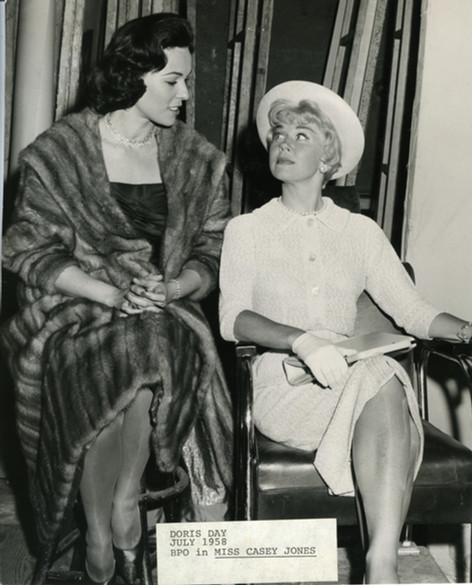 Bess and Doris Day
