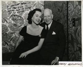 Bess and Harry Hershfield