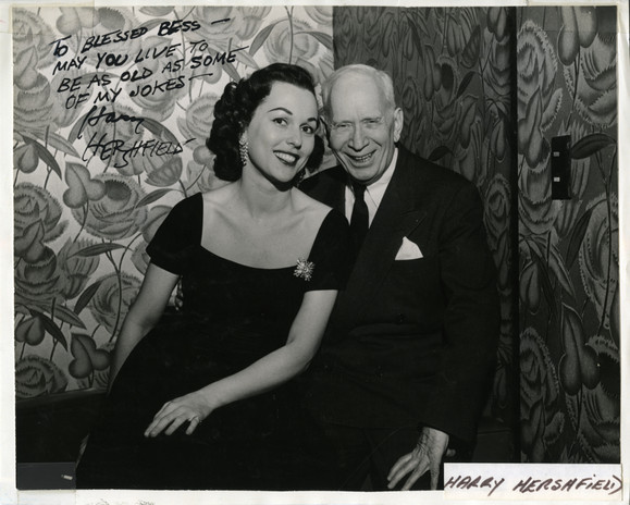 Bess and Harry Hershfield