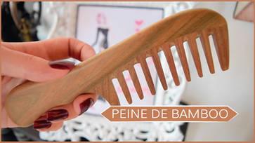 Leño Verde, peine de bambú (Reseña - Review)