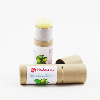 Natural (Mint & Basil Lip balm)