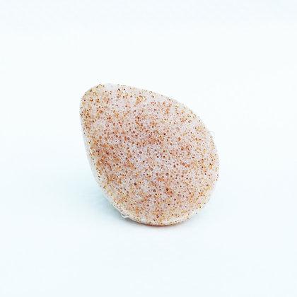 Konjac sponge with Walnut