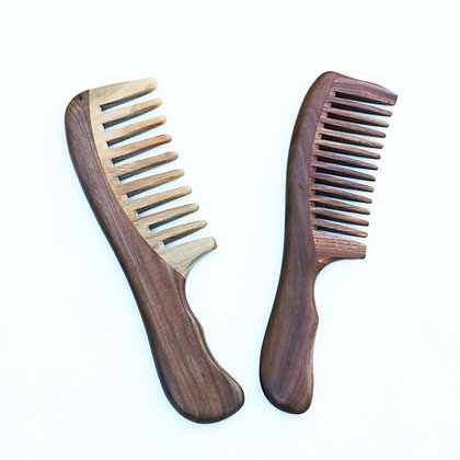 Leño Verde (Natural Anti-Frizz Bamboo Comb)